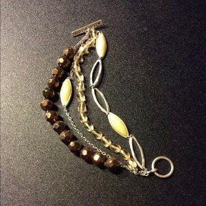 🔥⚡️BOGO SALE⚡️🔥  Sigrid Olsen 4 Strand Bracelet